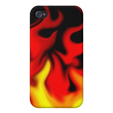 fire case for boys iPhone 4 cases | Zazzle