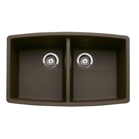 granite composite kitchen sinks reviews blanco performa undermount granite composite 33 in 6886