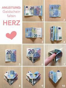 Herz Basteln Geld : tutorial anleitung geld falten herzen diy ~ A.2002-acura-tl-radio.info Haus und Dekorationen