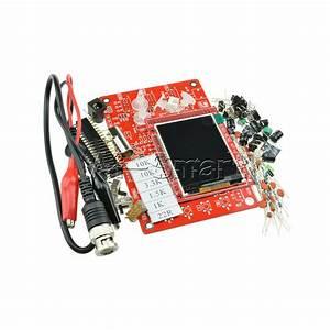 Digital Dso138 2 4 U0026quot  Tft Oscilloscope Acrylic Case Diy Kit