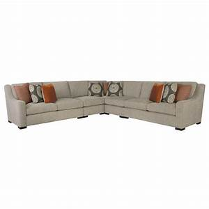 denis modern classic tweed grey sectional sofa kathy kuo With grey tweed sectional sofa