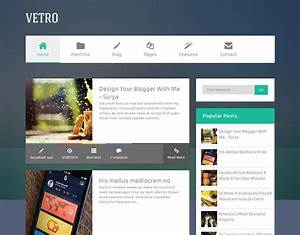flat vetro magazine blogger template abtemplatescom With best paid blogger templates