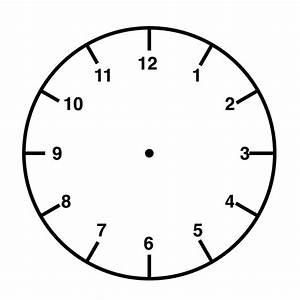 Clock Face Self-inking Stamp Clock Face
