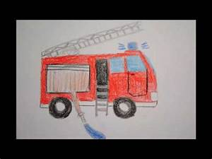Auto Achterbahn Für Kinder : feuerwehr auto zeichnen f r kinder how to draw a fire ~ Jslefanu.com Haus und Dekorationen