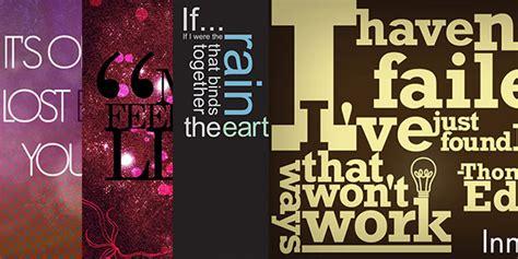 desain inspirasi tipografi kutipan quotes pindexain