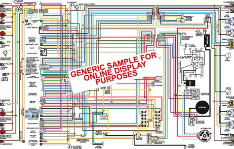 1980 Chevy Wiring by 1980 Chevy Corvette Color Wiring Diagram Classiccarwiring