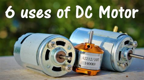 Application Of Electric Motor by 6 Useful Things From Dc Motor Diy Electronic Hobby