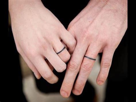 wedding ring tattoos 2010 35 the best wedding ring tattoo ideas youtube