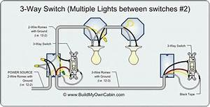 Wiring Diagram 3 Lights 2 Switches