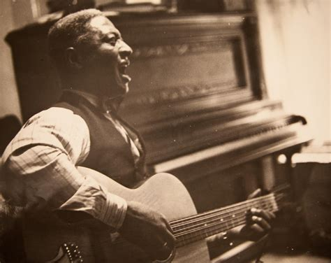 Lead Belly In New York Town