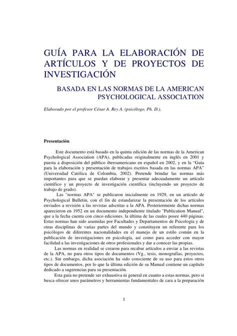 Normas Apa 2014 Para Resumen by 10 Normas Apa