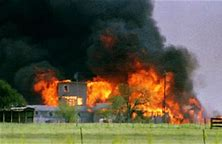 Image result for U.S. Federal agents raided the compound of an armed religious cult in Waco, TX.