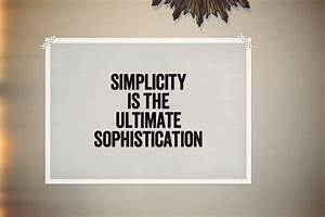 Quotes about Mi... Simplicity Minimalist Quotes