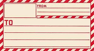 vintage clip art old gummed parcel post label the With free postage stickers