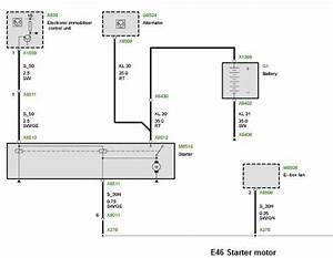 Bmw E46 Starter Wiring Diagram