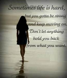 Sometimes Life Is Hard | Images Love Quotes