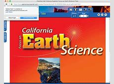 Pearson Science and Social Studies Online Text Books