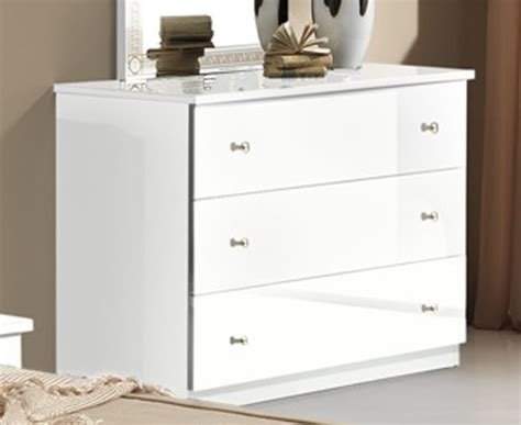 commode chambre blanche commode 3 tiroirs athena chambre a coucher blanc blanc