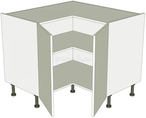 how to build built in cabinets corner kitchen base unit 39 l 39 shape 2 separate doors