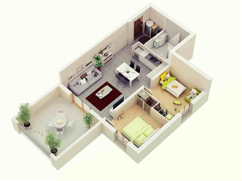 The Images Collection Of Of Small The Single Floor Home