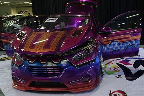 Led Spion Mobil By Nuansa Auto modifikasi honda hrv 2015 si ungu yang elegan