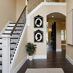 49 best images about victorian hallways on pinterest With best brand of paint for kitchen cabinets with stair wall art stickers