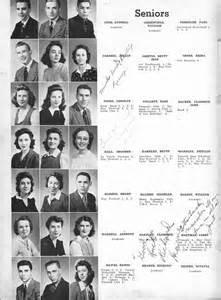 school yearbooks columbus high school chs 1943 yearbook log seniors