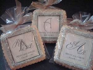 wedding favors shortbread custom cookies With custom made wedding favors
