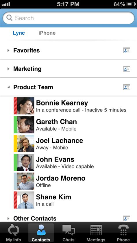 lync for iphone microsoft lync 2013 released for iphone and ipod
