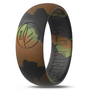 silicone wedding ring maui rings camo ring engagement rings  men wedding band mens rubber