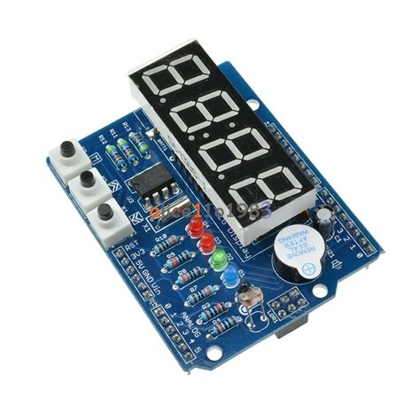 Rtc Real Time Clock Shield Digital Tube