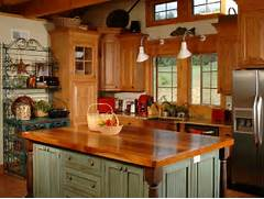Country Kitchen Islands HGTV Kitchen Cute Small Kitchen Island Ideas For Enchanting Kitchens Cabinets With Glass Doors Help Make Small Kitchens Look Larger In Her Tabouret Pour Lot Central De Cuisine Petits Et Grands Espaces