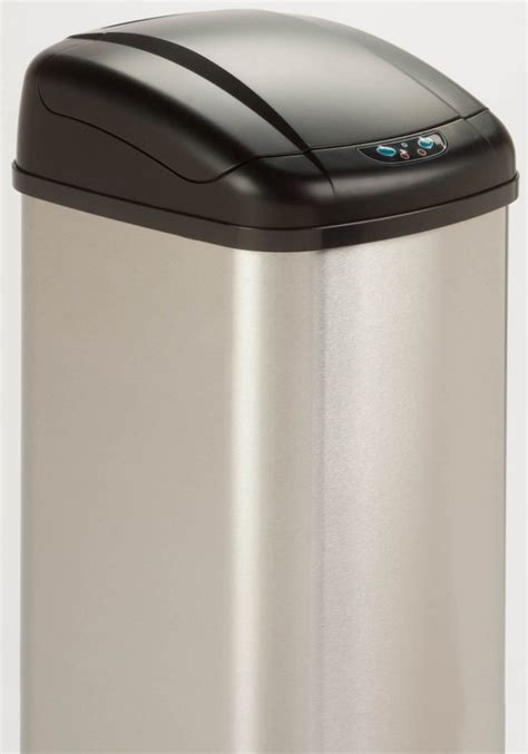 motion sensor trash   stainless steel trash cans