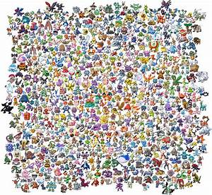 All Pokemon Sprites Gen I V