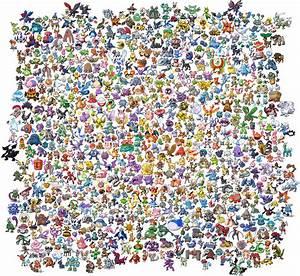All Pokemon Sprites (Gen I - V) by GreenFeline777 on ...