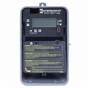 Intermatic Et2815cr Et2800 Series Astronomic Electronic Timer Control 120
