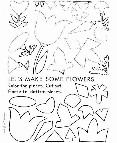 Easter Printable Crafts Craft Coloring Pages Bunny