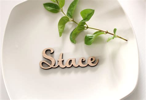 place cards for weddings for beautiful wedding card ideas create your own design laser cut wooden wedding place names wooden name place