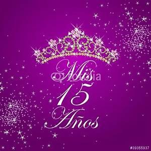"""""""MIS 15 AÑOS"""" Imagens e vetores de stock Royalty Free no Fotolia com Imagem 39355937"""