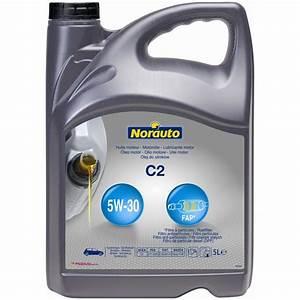 Huile Moteur Essence : huile moteur norauto c2 fap 5w30 essence et diesel 5 l ~ Melissatoandfro.com Idées de Décoration