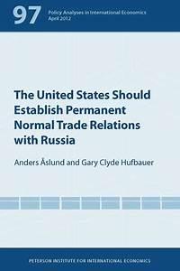 The United States Should Establish Permanent Normal Trade ...