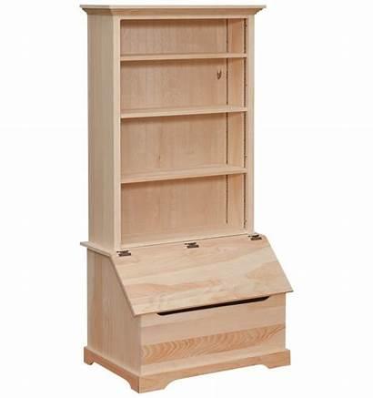 Bookshelf Box Slanted Storage Chest Inch Slant