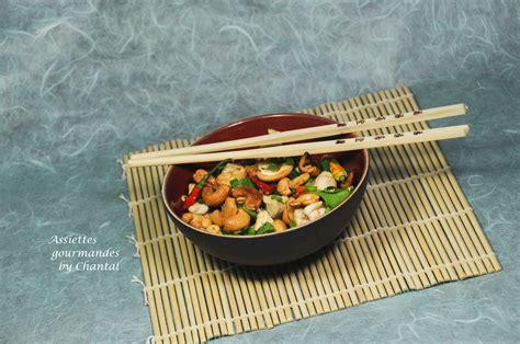 cuisine thailandaise poulet poulet aux noix de cajou recette thaï cuisine asiatique
