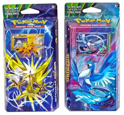 pokemon xy roaring skies theme deck set of 2 aurora