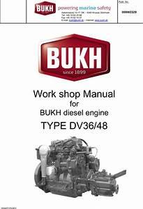 Bukh Dv36 48 Workshop Manual 1003418 009w2329 Section Any User