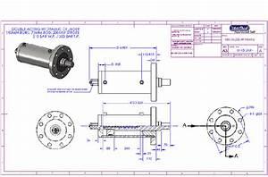 Hydraulic Cylinder Design Drawing | Autos Post