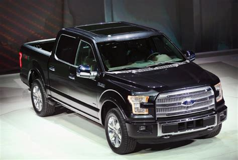 2015 luxury trucks 2015 ford f 150 brings aluminum and leds to the 2014
