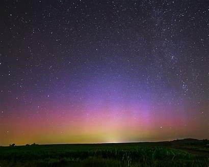 Aurora Sky Nature Night Star