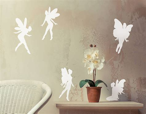 fairy vinyl wall sticker set contemporary wall stickers