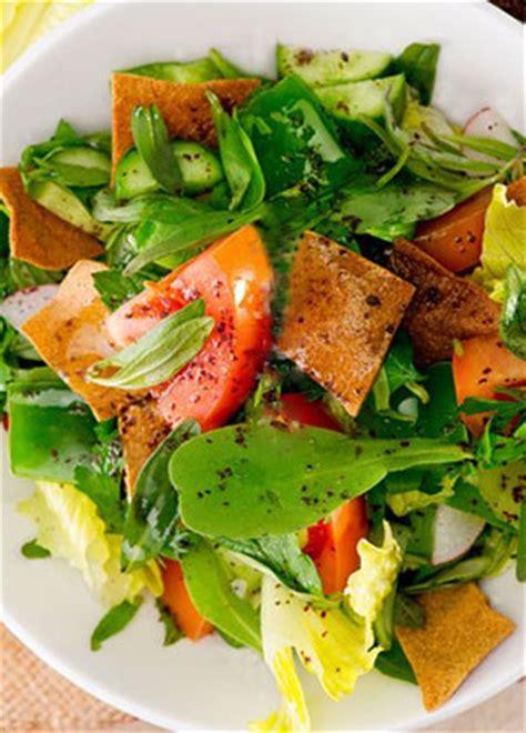 recette de cuisine libanaise salade fattouche libanaise avec pita recette ramadan